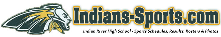 picture about Indians Schedule Printable titled Indian River - Indians-Athletics